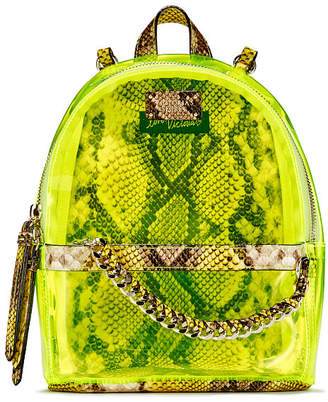 Victoria's Secret Neon Python Small City Backpack