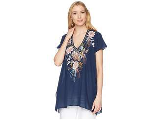 Johnny Was Ceretti Drape Top Women's Clothing