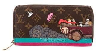 Louis Vuitton Monogram Evasion Zippy Wallet