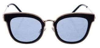 Jimmy Choo Tinted Oversize Sunglasses