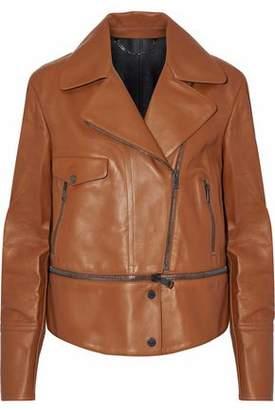 Belstaff Convertible Leather Biker Jacket