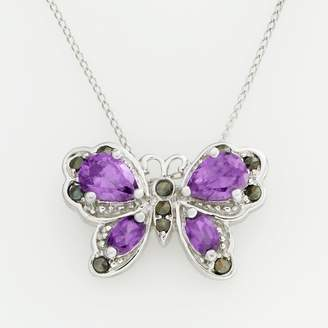 Jewelry For Trees Jewelry for Trees Platinum Over Silver Butterfly Pendant