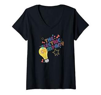 Womens The Electric Company Electric Light V-Neck T-Shirt