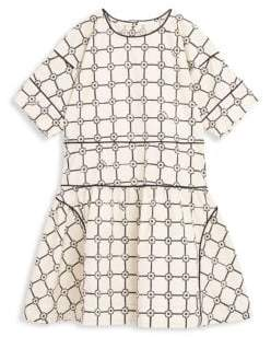 Burberry Little Girl's& Girl's Short Sleeve Dress