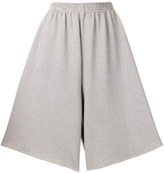 MM6 MAISON MARGIELA checkered loose fitted shorts