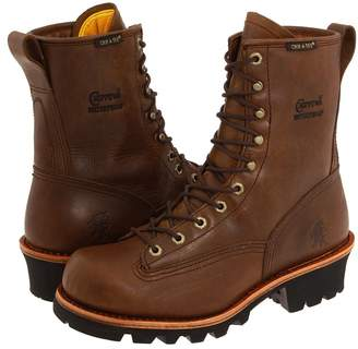 Chippewa 8 Bay Apache Waterproof Lace-to-Toe Logger Men's Work Boots