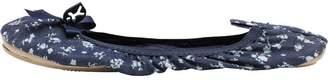 Bedroom Athletics Womens Sydney Denim Disty Slippers Blue