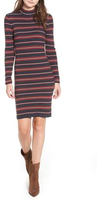 Noisy May Myra Stripe Rib Sweater Dress