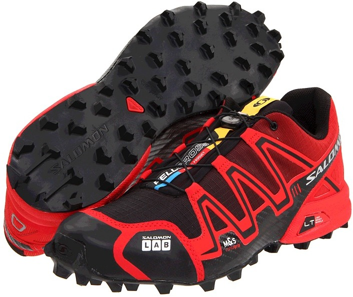 Salomon Fellcross (Black/Red) - Footwear