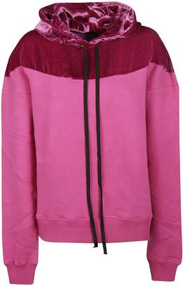 Taverniti So Ben Unravel Project Two Tone Hoodie