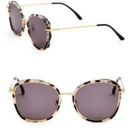 Gentle Monster Tinted 58MM Oval Sunglasses