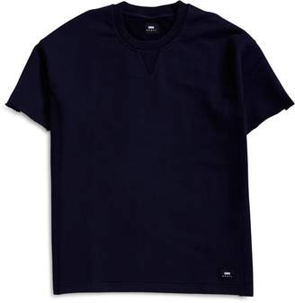 Edwin Heavy Unbrushed Flepa, 350gr. Crew Sweat Navy