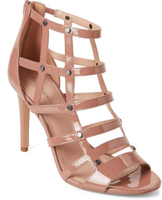 BCBGeneration Deep Blush Jenna Patent Caged Pumps