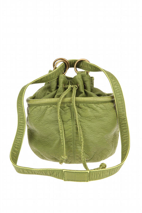 Deux Lux Pebbled O-Ring Pouch Purse