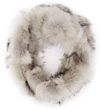 Reiss Chester Tipped Faux-Fur Snood