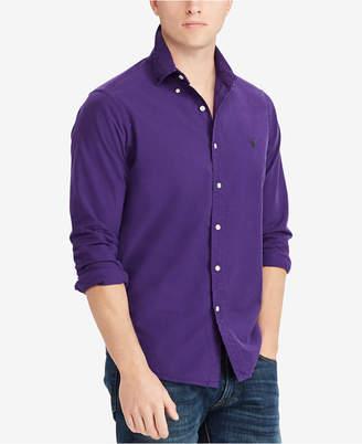 Polo Ralph Lauren Men's Big & Tall Classic Fit Cotton Oxford Shirt