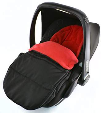 Britax Car Seat Footmuff/Cosy Toes Compatible with Baby Safe New Born Car seat Fire Red