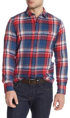 WALLIN & BROS Plaid Flannel Regular Fit Shirt