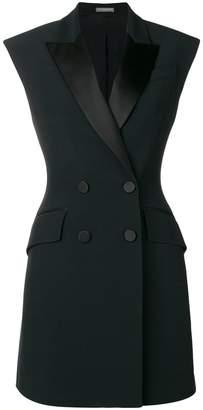 Alexander McQueen tuxedo dress