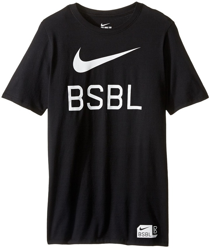 Nike Kids Baseball Logo Short Sleeve Training T-Shirt (Little Kids/Big Kids)