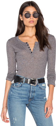 Obey Westling Henley Top $55 thestylecure.com