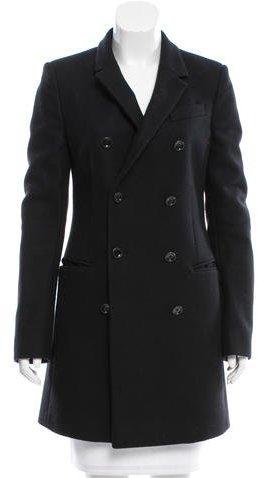 Balenciaga Balenciaga Double-Breasted Short Coat