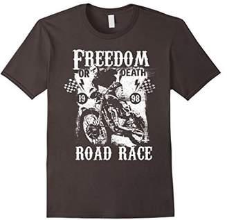 Freedom Motorcycle Vintage Retro Biker T-Shirt