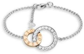 Piaget Possession Diamond, 18K White& Rose Gold Chain Bracelet