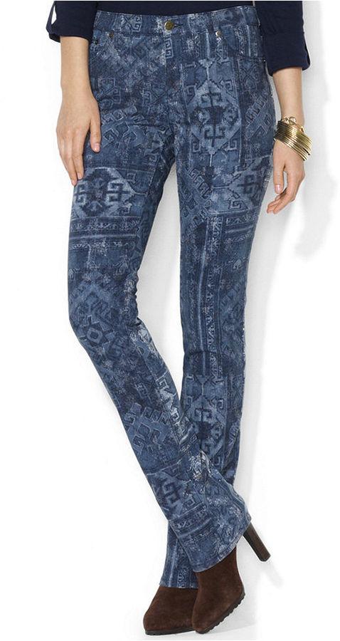 Lauren Ralph Lauren Jeans, Modern Stiraght-Leg Printed
