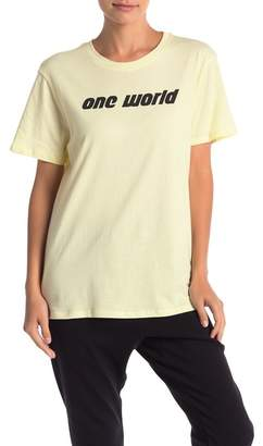 THE PHLUID PROJECT One World Graphic Tee