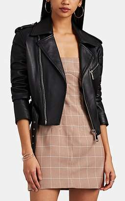 MANNING CARTELL Women's Open Season Leather Jacket - Black