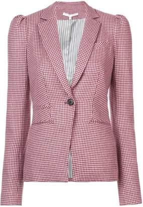 Veronica Beard gingham patterned blazer