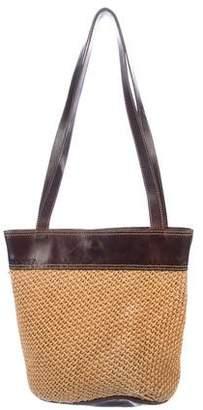 Bottega Veneta Vintage Woven Rope Bag