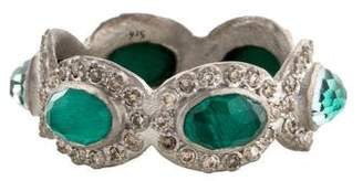 Armenta Topaz & Malachite Band