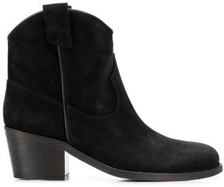 Via Roma 15 mid-heel ankle boots