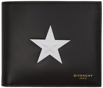 Givenchy Black Star Wallet $585 thestylecure.com