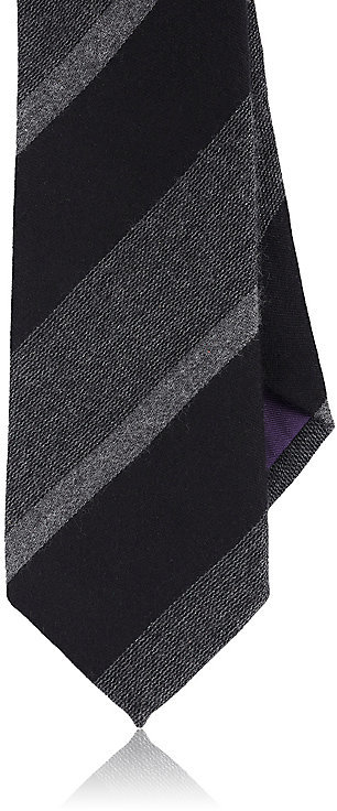 Ralph Lauren Purple Label Ralph Lauren Purple Label RALPH LAUREN PURPLE LABEL MEN'S STRIPED SILK-CASHMERE NECKTIE