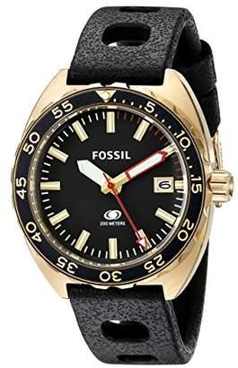 Fossil Men's FS5050 Breaker Analog Display Analog Quartz Watch