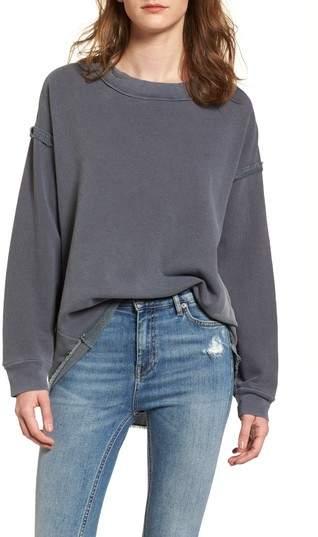 Stateside Mixed Media Swing Sweatshirt