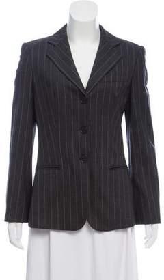Giorgio Armani Striped Wool Blazer