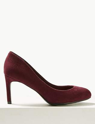 Marks and Spencer Wide Fit Stiletto Heel Court Shoes