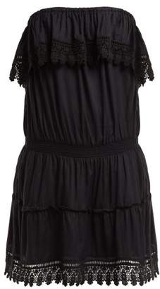 Melissa Odabash Joy Strapless Mini Dress - Womens - Black
