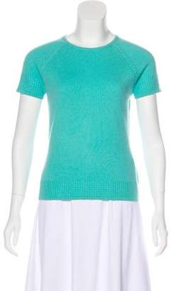 Magaschoni Cashmere Short Sleeve Top