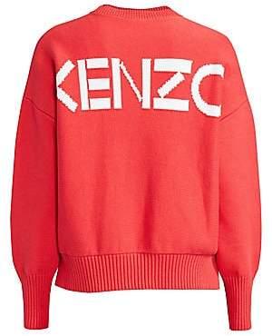 Kenzo Women's Oversized Logo Sweater