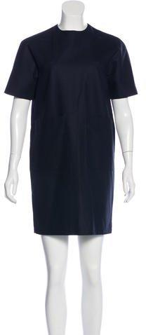 Balenciaga Balenciaga Short Sleeve Shift Dress