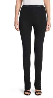 Prada Jersey Ankle-Zip Leggings