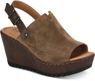 b.ø.c. Noelle Wedge Sandals