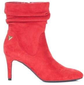 GUESS Ryann Camoscio Suede Slouch Booties