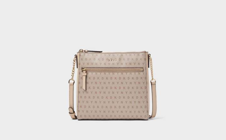 Coated Logo Chain Crossbody