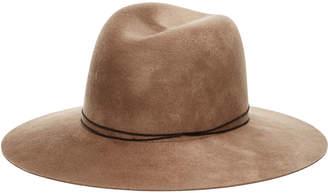 Janessa Leone Billie Wool Fedora Hat